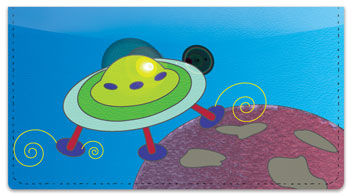 Spaced Out Checkbook Cover