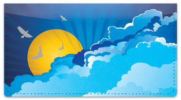 Birds in Flight Checkbook Cover