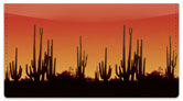 Desert Scenery Checkbook Cover