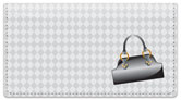 Purse Lover Checkbook Cover