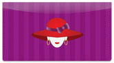 Red Hat Checkbook Cover