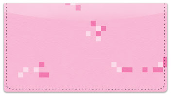 Pixelated Checkbook Cover