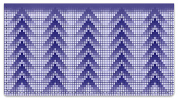 Pixel Pattern Checkbook Cover