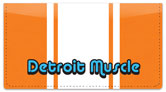 Detroit Muscle Checkbook Cover