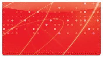 Curves of Light Checkbook Cover