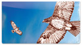 Red-Tailed Hawk Checkbook Cover