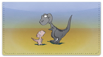 Dinosaur Checkbook Cover
