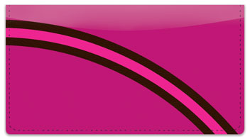 Curved Line Checkbook Cover