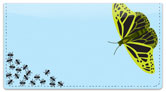 Insect Illustration Checkbook Cover