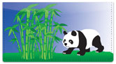 Bamboo Checkbook Cover