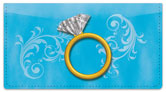 Ring Bling Checkbook Cover