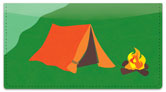 Camping & Hiking Checkbook Cover
