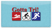 Triathlon Checkbook Cover