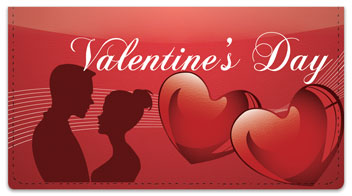 Valentine's Day Checkbook Cover