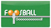 Foosball Checkbook Cover