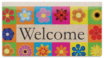 Welcome Mat Checkbook Cover