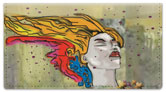 Graffiti Art Checkbook Cover