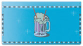 Sock Hop Checkbook Cover