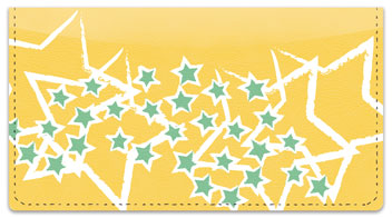 Star Sketch Checkbook Cover
