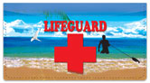 Lifeguard Checkbook Cover