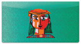 Picasso Portrait Checkbook Cover