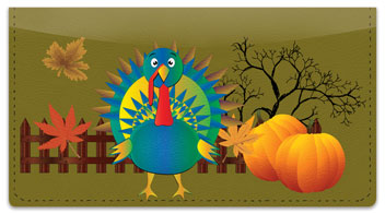 Thanksgiving Checkbook Cover