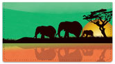 Safari at Sunset Checkbook Cover