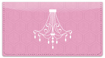 Chandelier Checkbook Cover