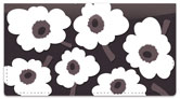 Big Floral Checkbook Cover