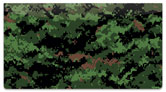 Digital Camo Checkbook Cover