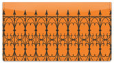 Wrought Iron Fence Checkbook Cover