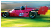 Car Racing Checkbook Cover