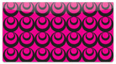 Pink Party Checkbook Cover