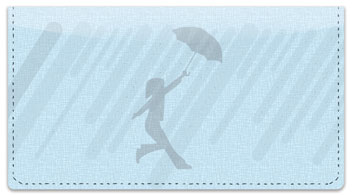 Spring Shower Checkbook Cover