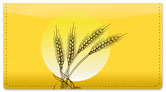 Wheat Field Checkbook Cover