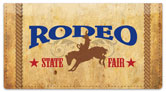 Rodeo Checkbook Cover