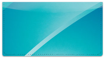 Colorful Curve Checkbook Cover
