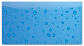 Water Droplet Checkbook Cover