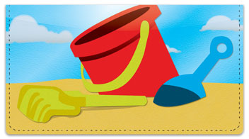 Fun on the Beach Checkbook Cover