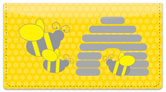 Honeybee Checkbook Cover