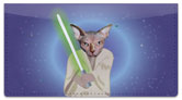 Pets in Costume Checkbook Cover