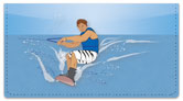 Waterskiing Checkbook Cover