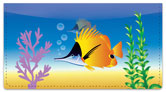 Tropical Fish Checkbook Cover