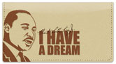 Martin Luther King Checkbook Cover