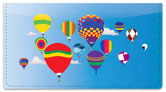 Balloon Ride Checkbook Cover
