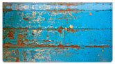 Distressed Wood Checkbook Cover