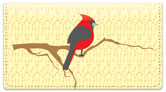 Redbird Checkbook Cover