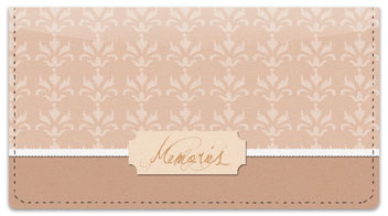 Scrapbook Checkbook Cover