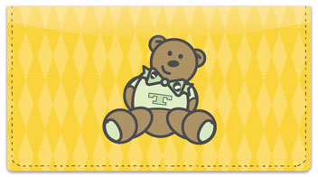 Teddy Bear Checkbook Cover