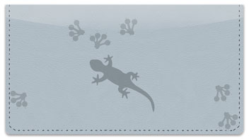 Paw Print Checkbook Cover